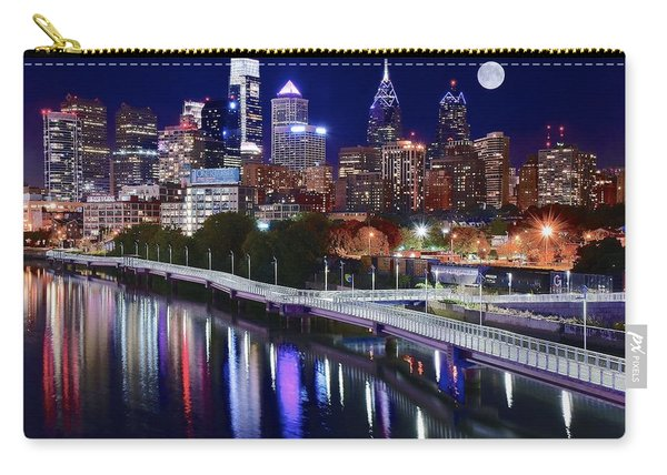 Full Moon Over Philly Carry-all Pouch