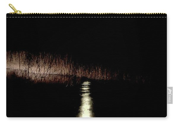 Full Moon Over Piermont Creek Carry-all Pouch