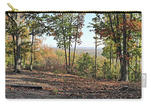 Full Panoramic View From The Summit Of Brown's Mountain Trail Carry-all Pouch