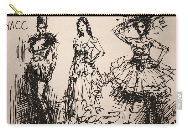 Fun At Art Of Fashion At Nacc 3 Carry-all Pouch