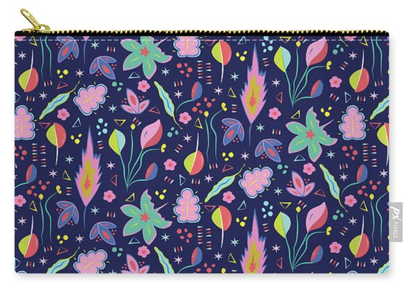 Fun In The Garden Carry-all Pouch