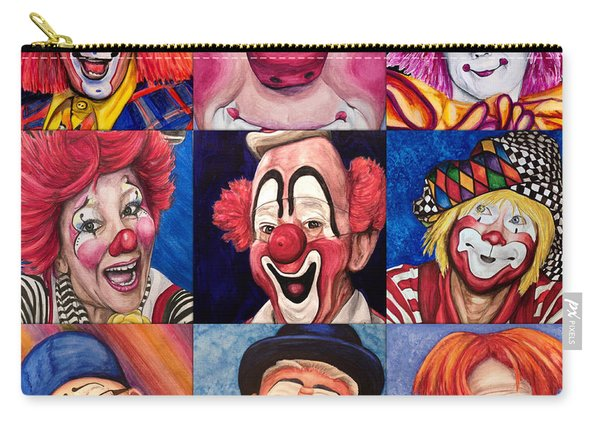 Fun Real Clowns Carry-all Pouch