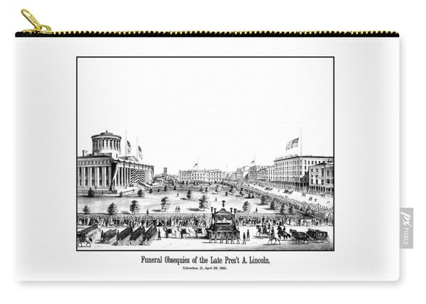 Funeral Obsequies Of President Lincoln Carry-all Pouch