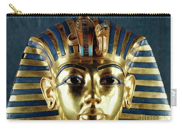 Funerary Mask Of Tutankhamun Carry-all Pouch