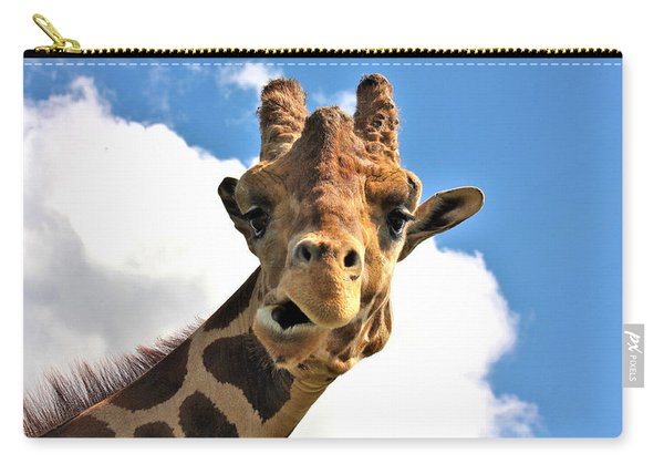 Funny Face Giraffe Carry-all Pouch