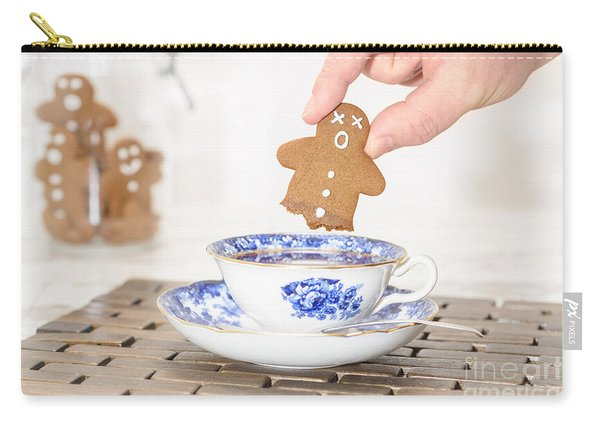 Funny Gingerbread Carry-all Pouch