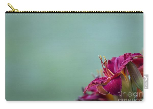 Fuchsia In Bloom Carry-all Pouch