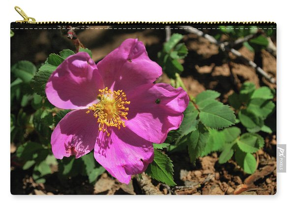Fuschsia Mountain Accent Carry-all Pouch
