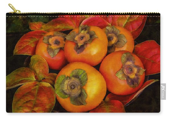 Fuyu Persimmons Carry-all Pouch