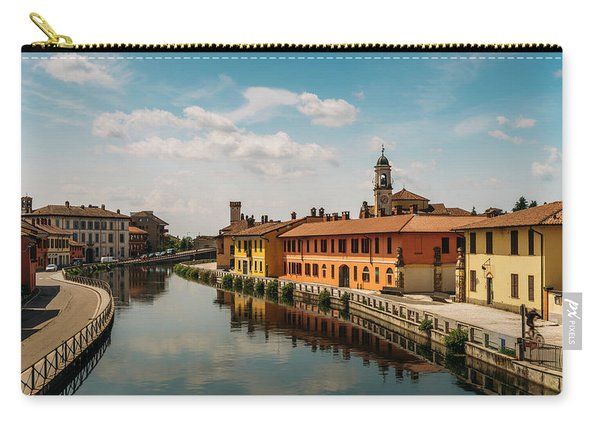 Gaggiano On The Naviglio Grande Canal, Italy Carry-all Pouch