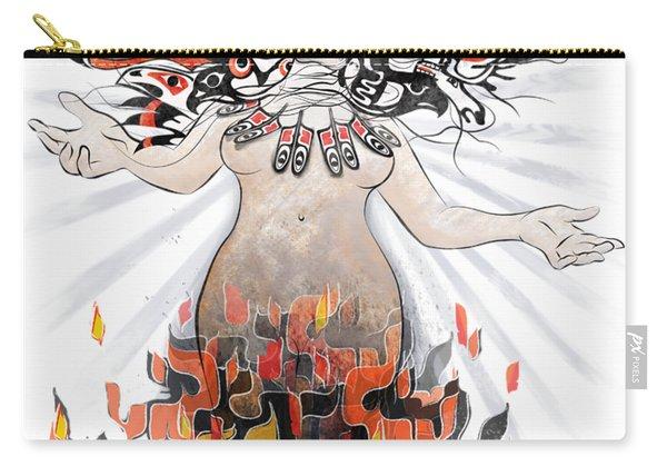Gaia In Turmoil Carry-all Pouch