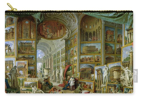 Gallery Of Views Of Ancient Rome Carry-all Pouch