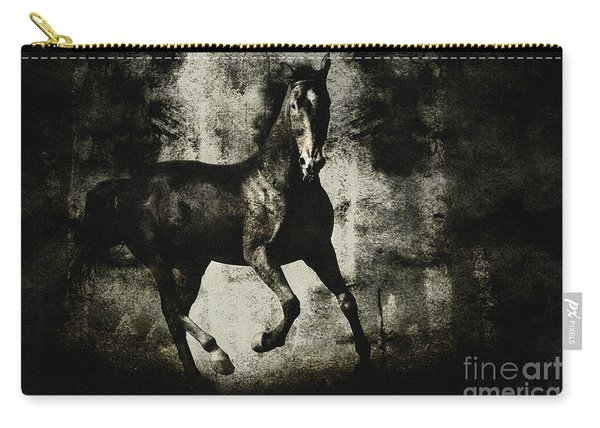 Galloping Horse Artwork Carry-all Pouch
