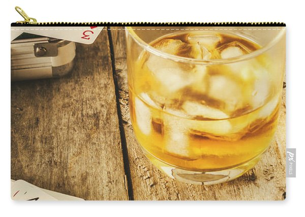 Gamblers Still Life Carry-all Pouch