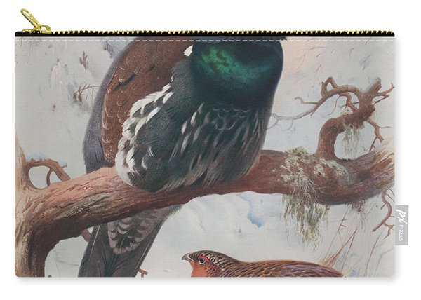 Game Birds And Wild-fowl  Carry-all Pouch
