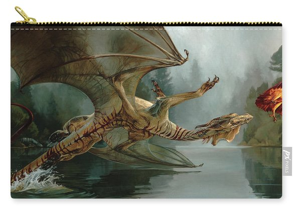 Game Of Chase Carry-all Pouch