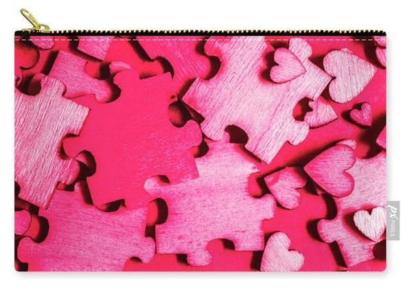 Game Of Romance Carry-all Pouch