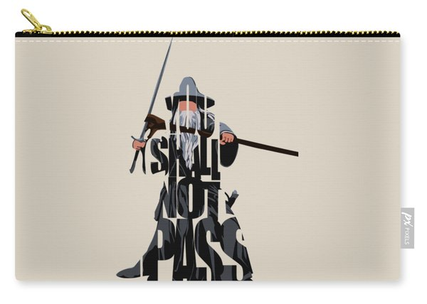 Gandalf - The Lord Of The Rings Carry-all Pouch