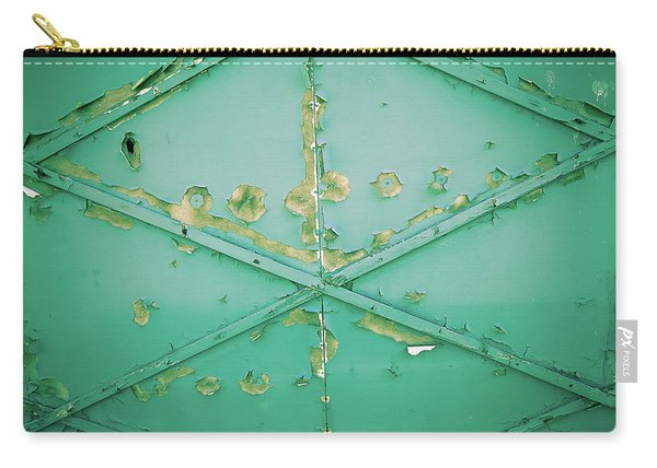 Garage Door With Peeling Paint Carry-all Pouch