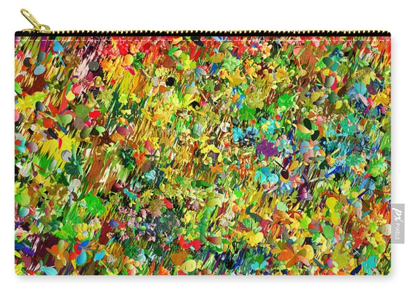 Garden Abstract Carry-all Pouch