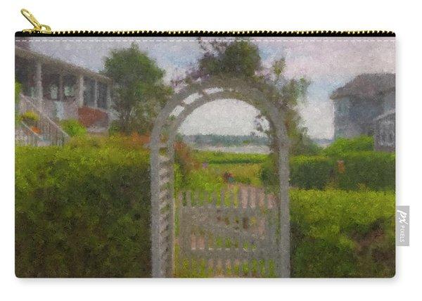 Garden Gate Falmouth Massachusetts Carry-all Pouch