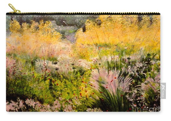 Garden In Northern Light Carry-all Pouch