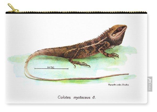 Garden Lizard Carry-all Pouch