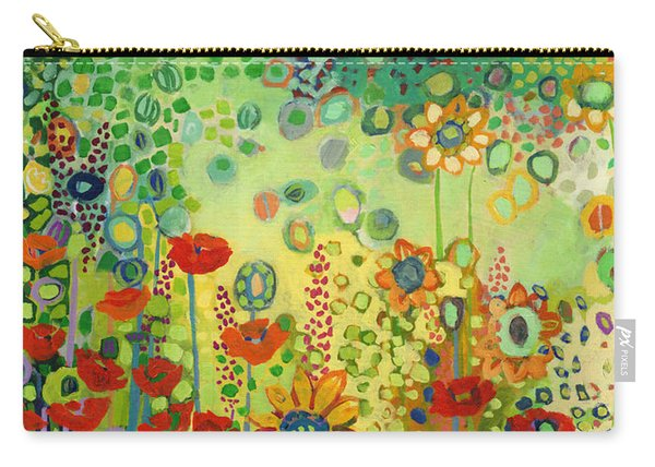 Garden Poetry Carry-all Pouch