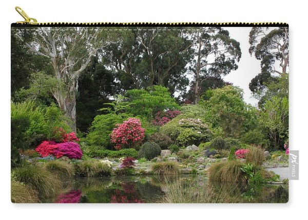 Garden Reflection Carry-all Pouch