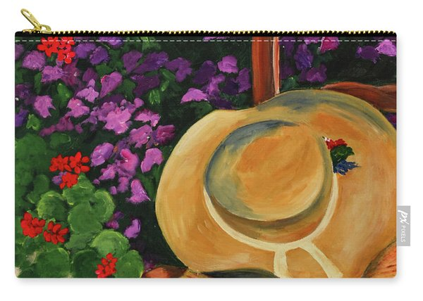 Garden Scene Carry-all Pouch