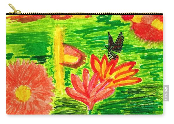 Garden Scent-sation Carry-all Pouch