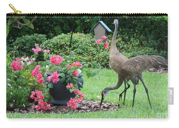 Garden Visitors Carry-all Pouch