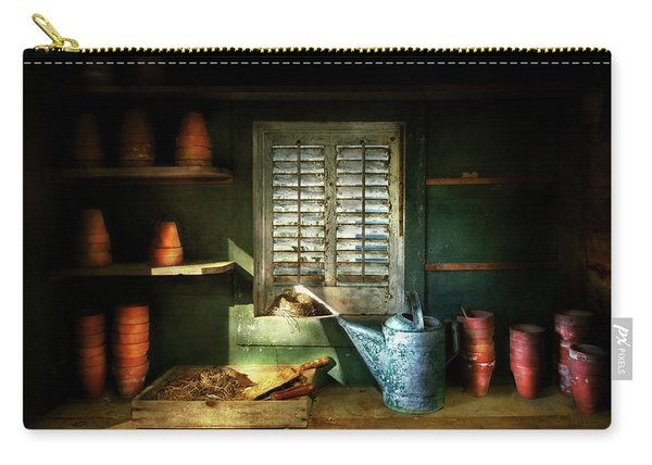 Gardener - The Potters Shed Carry-all Pouch
