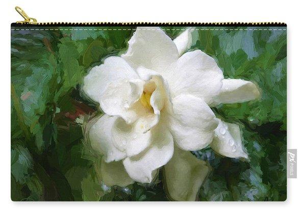 Gardenia Blossom Carry-all Pouch