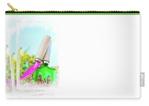 Gardening Concept Business Card Carry-all Pouch