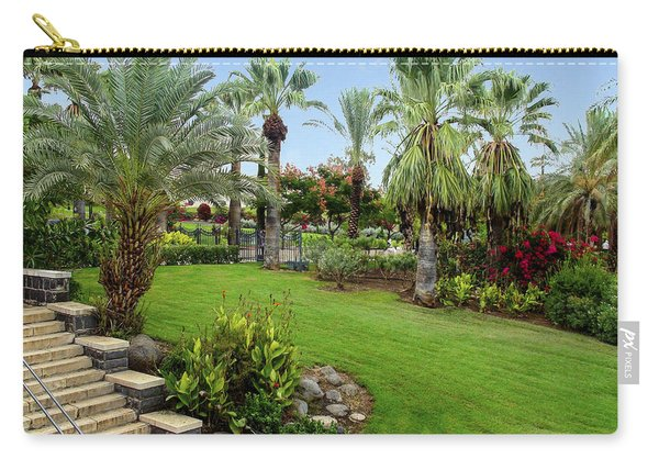 Gardens At Mount Of Beatitudes Israel Carry-all Pouch