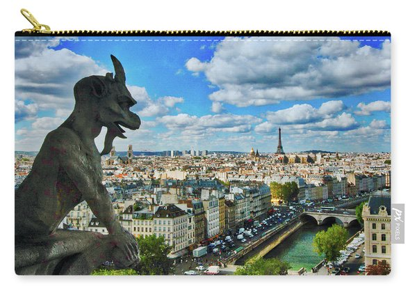 Gargoyle With A View Carry-all Pouch