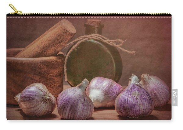 Garlic Bulbs Carry-all Pouch