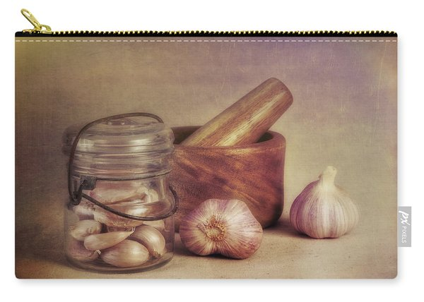 Garlic In A Jar Carry-all Pouch