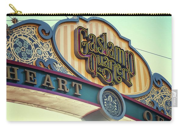 Gaslamp Close Up Carry-all Pouch