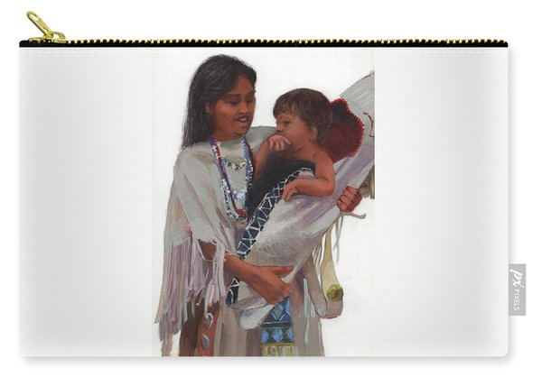 Gathered Tenderness Carry-all Pouch