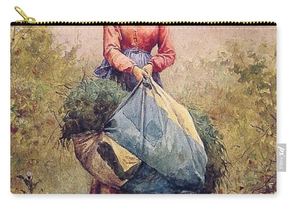 Gathering Leaves Daniel Ridgway Knight Carry-all Pouch