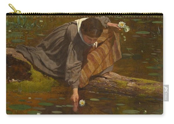 Gathering Lilies Carry-all Pouch