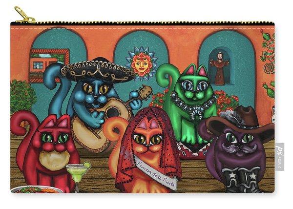 Gatos De Santa Fe Carry-all Pouch