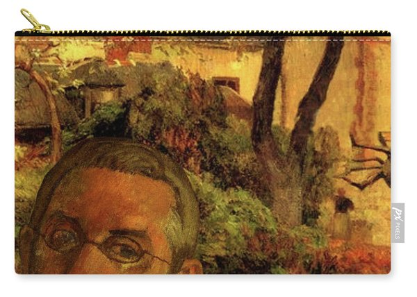 Gauguin Study In Orange Carry-all Pouch
