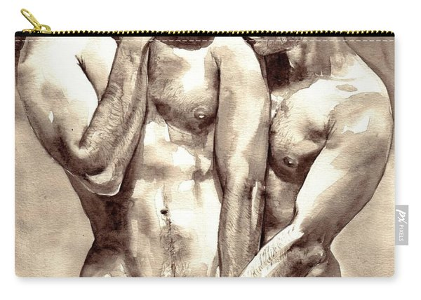 Gay Love Watercolor Carry-all Pouch