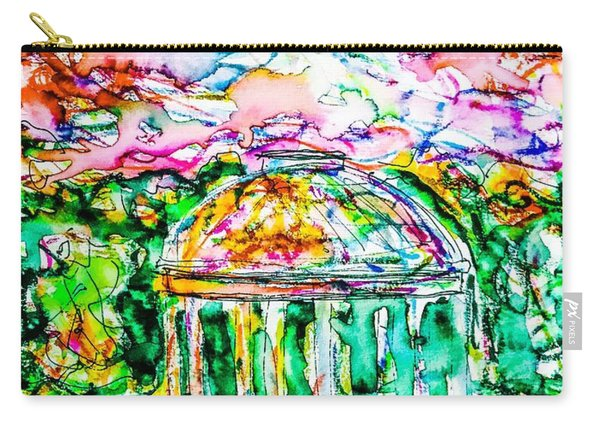 Gazebo Sunset Carry-all Pouch