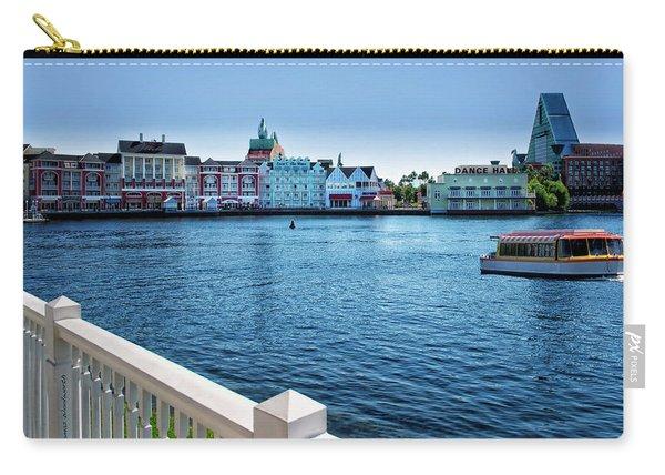 Gazebo View Of The Boardwalk Walt Disney World Mp Carry-all Pouch
