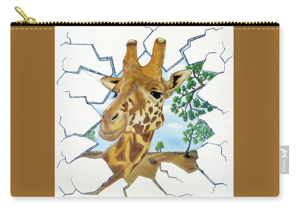Gazing Giraffe Carry-all Pouch