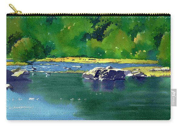Geese On The Rappahannock Carry-all Pouch